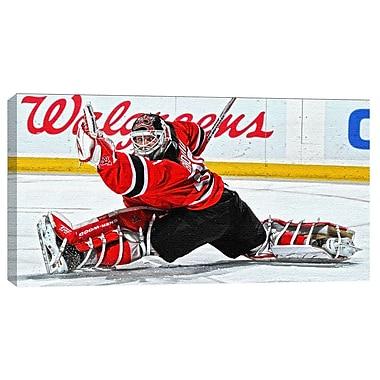 Martin Broduer Canvas, New Jersey Devils