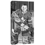 Johnny Bower, toile, Maple Leafs de Toronto