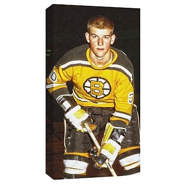 Bobby Orr, toile, « Jeune Bobby » des Bruins de Boston