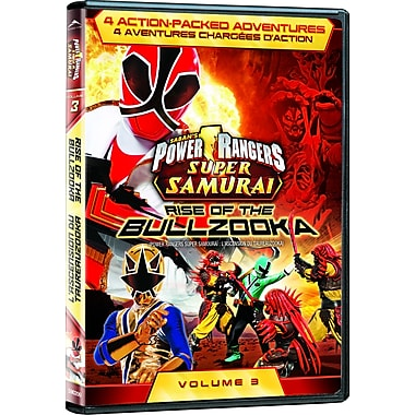 Power Rangers Super Samurai: Rise of the Bullzooka Volume 3 (DVD)