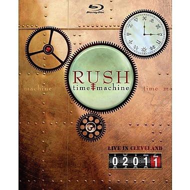 RUSH: Time Machine 2011 Live In Cleveland (Blu-Ray)