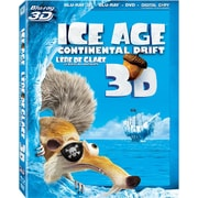 Ice Age: Continental Drift 3D (3D Blu-Ray + Blu-Ray + DVD + copie numérique)