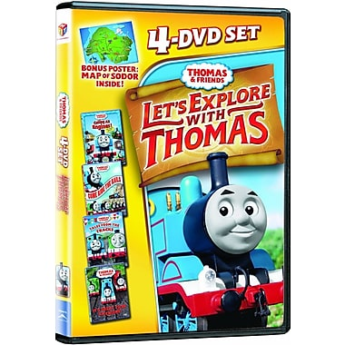 Thomas & Friends: Let's Explore with Thomas (DVD)