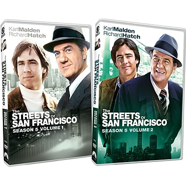 Streets of San Francisco: Season Five - Two Pack (DVD)