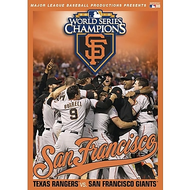 Official 2010 World Series Film - San Francisco Giants (DVD)