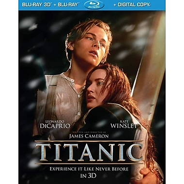 Titanic 3D (2012) (3D Blu-Ray + Blu-Ray + Digital Copy)