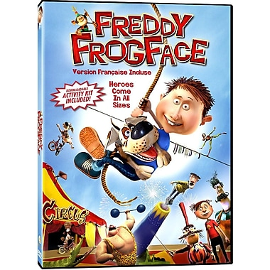 Freddy Frogface - Bilingual (DVD)