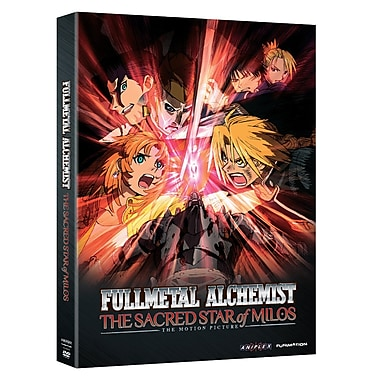 Fullmetal Alchemist Brotherhood: The Sacred Star of Milos (DVD)