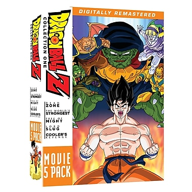 Dragon Ball Z: Movie 5 Pack (DVD)