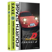 Initial D: Stage 4: S.A.V.E. (DVD)