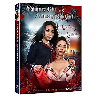 Vampire Girl vs Frankenstein Girl: Live Action Movie (DVD)