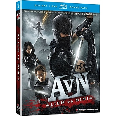 Alien vs Ninja: Live Action Movie (Blu-Ray + DVD)