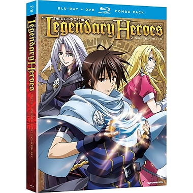 Legend of the Legendary Heroes: Part 2 (Blu-Ray + DVD)