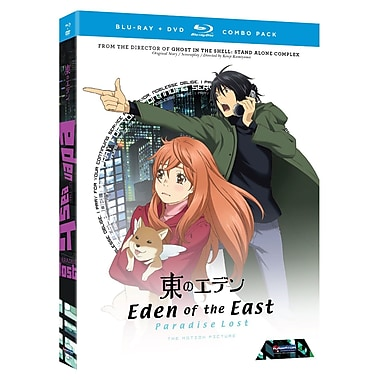 Eden of the East: Paradise Lost (Blu-Ray + DVD)