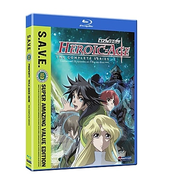 Heroic Age: The Complete Series (Blu-Ray)