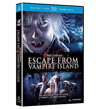 Higanjima: Escape From Vampire Island (Blu-Ray + DVD)
