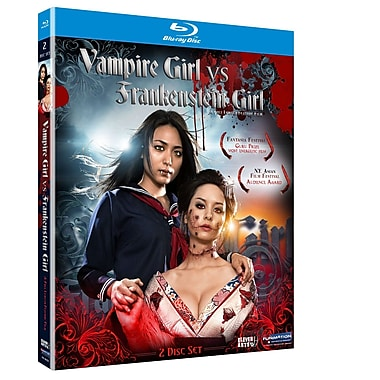 Vampire Girl vs Frankenstein Girl: Live Action Movie (Blu-Ray)