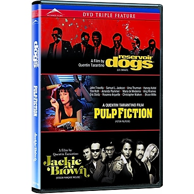 Reservoir Dogs/Pulp Fiction/Jackie Brown (DVD)