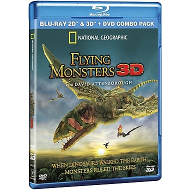 Flying Monsters 3D (3D Blu-Ray)