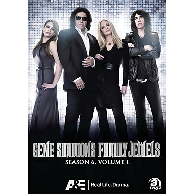Gene Simmons Family Jewels Season 6 Volume 1 (DVD)