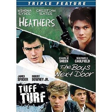 Triple Feature - Heathers / The Boys Next Door / Tuff Turf (DVD)