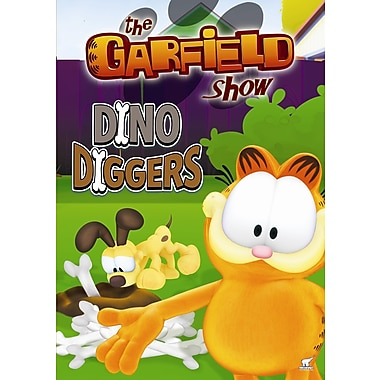The Garfield Show: Dino Diggers (DVD)