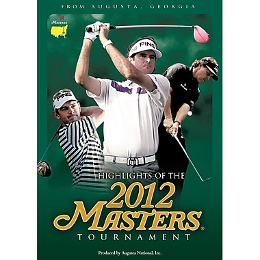 Highlights of the 2012 Masters Tournament (DVD)