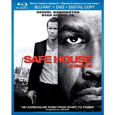 Safe House (Blu-Ray + DVD + Digital Copy)
