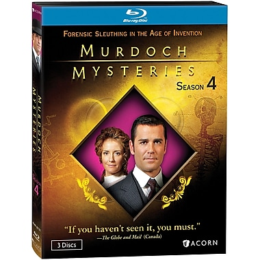 Murdoch Mysteries - Season 4 (BD) (Blu-Ray)