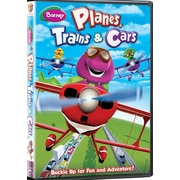 Barney Planes Trains And Cars (DVD)