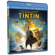 The Adventures of Tintin 3D (3D Blu-Ray + Blu-Ray + DVD + copie numérique)