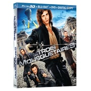 The Three Musketeers 3D (3D Blu-Ray + Blu-Ray + DVD + copie numérique)