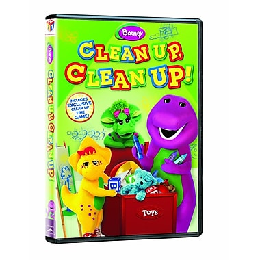 Barney: Clean Up Clean Up! (DVD)