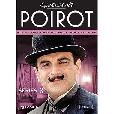 Agatha Christie's Poirot Series 3 (DVD)