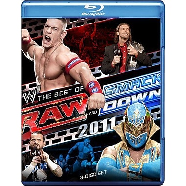 WWE 2011: Raw And Smackdown: Best of 2011 (Blu-Ray)