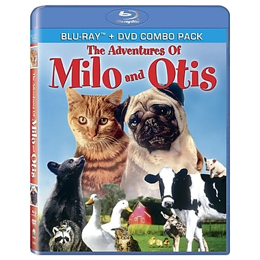 The Adventures of Milo and Otis (Blu-Ray + DVD)