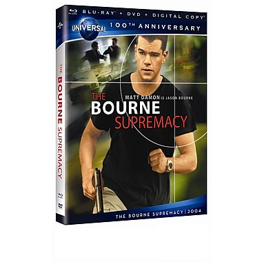 Bourne Supremacy (Blu-Ray + DVD/Flip + copie numérique)