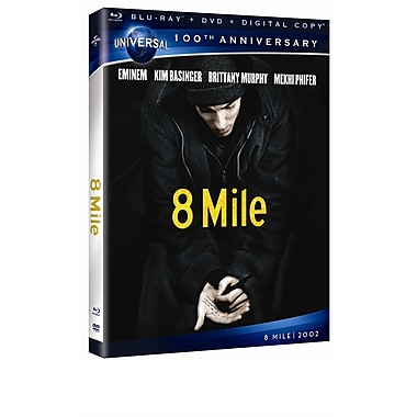 8 Mile (Blu-Ray + DVD + Digital Copy)
