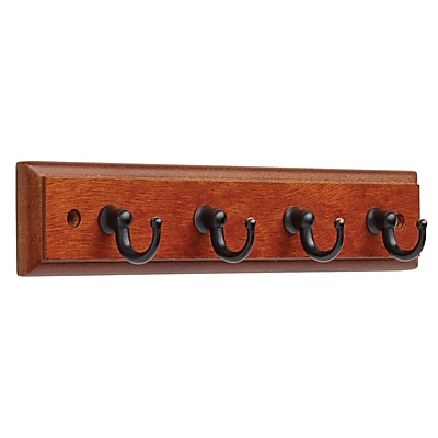 Key Rack with 4 Hooks 2pk