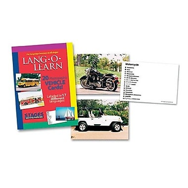 Lang-O-Learn Flash Cards, Vehicles