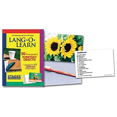 Lang-O-Learn Flash Cards, Everyday Objects
