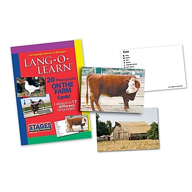 Lang-O-Learn Flash Cards, On The Farm
