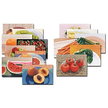 Real Life Learning, Fruits and Vegetables Posters Set