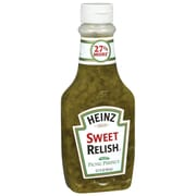 Heinz Sweet Relish In Squeeze Bottle, 12 oz., 14/Pack