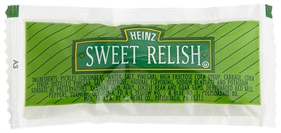 Heinz® Sweet Relish, 9g, 400/Pack