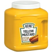 Heinz #10 Yellow Mustard Jug, 104 oz., 6/Pack