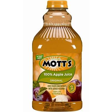 Mott s For Tots Apple Juice, 32 oz. Plastic Bottle, 10/Pack