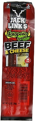 Jack Links Beef/Cheese Jalapeno, 1 oz. 32/Pack