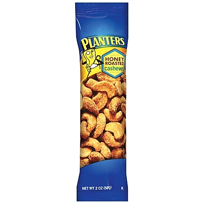 Planters Honey Roasted Cashew, 2 oz., 15/Pack