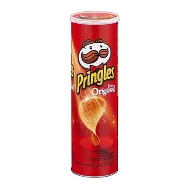 Pringles Potato Chips, Original, 5.68 oz., 12/Pack